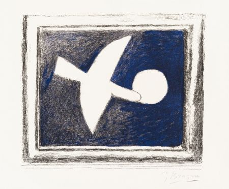 Litografía Braque - Astre Et Oiseau (Star And Bird) I, 1958-59