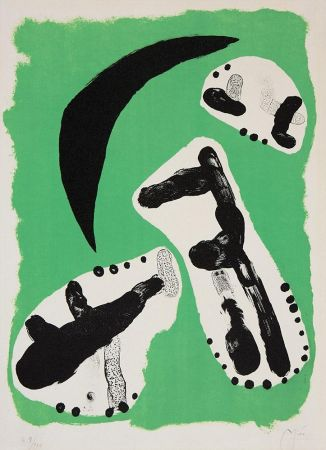 Litografía Miró - Astrologie II