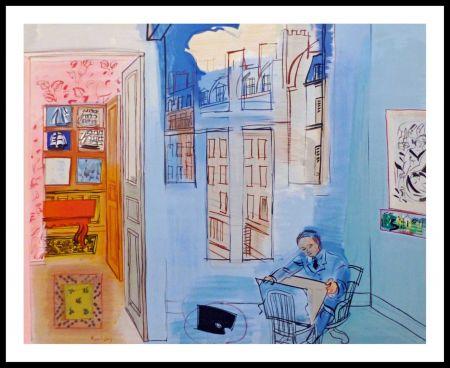 Litografía Dufy - ATELIER DE L'IMPASSE