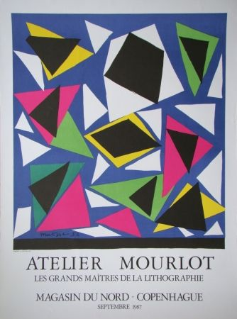 Litografía Matisse - Atelier Mourlot
