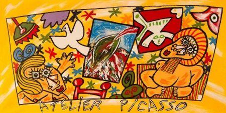 Litografía Donzelli - Atelier Picasso