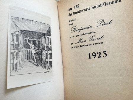 Libro Ilustrado Ernst - AU 125 DU BOULEVARD SAINT-GERMAIN. Conte par Benjamin Péret (1923)