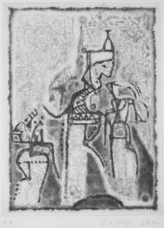 Aguatinta Kouliev - Audienz beim Sultan