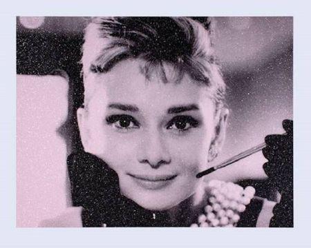 Serigrafía Young - Audrey Hepburn
