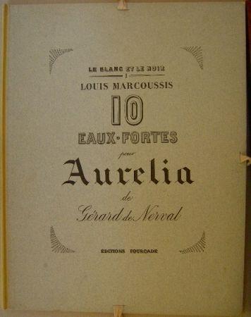Grabado Marcoussis - Aurelia, 10 Eaux-fortes