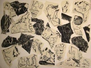 Litografía Voss - Aus der Erinnerung