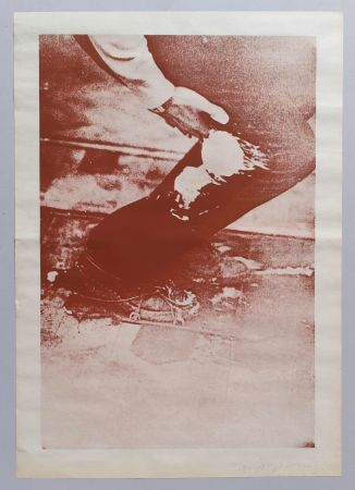 Serigrafía Beuys - Aus Eurasienstab