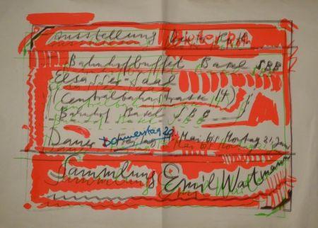 "Serigrafía Roth - ""Ausstellung Dieter Roth / Bahnhofbuffet Basel SBB..."
