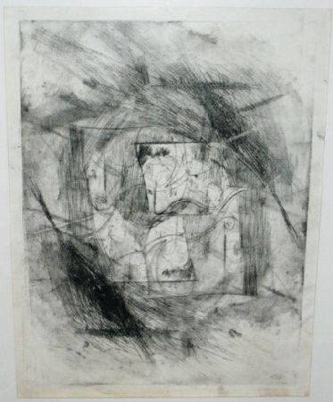 Punta Seca Szafran - Autoportrait