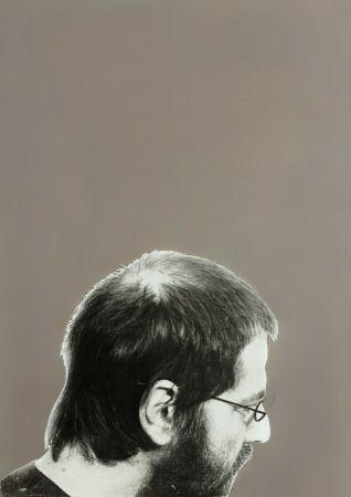 Serigrafía Pistoletto - Autoritratto, 1970