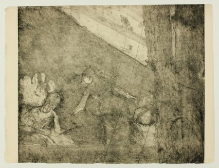 Grabado Degas - Aux  Ambassadeurs