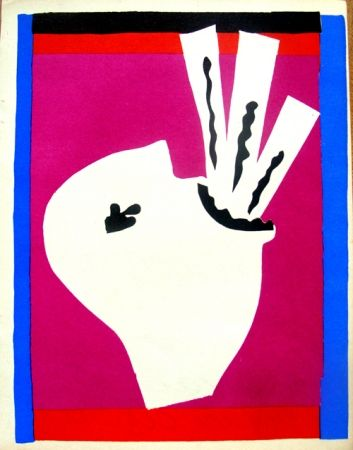 Litografía Matisse - Avaleur De Sabres De La Serie Jazz