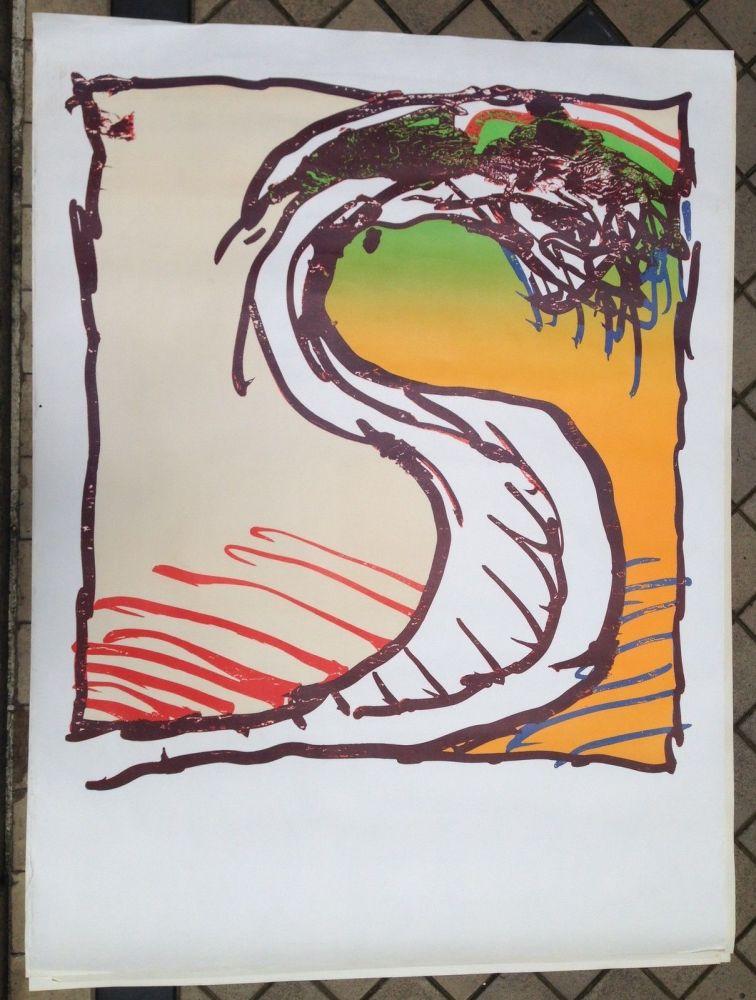 Litografía Alechinsky - Avant la lettre