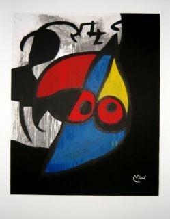 Litografía Miró - Avant la lettre