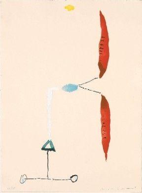 Grabado Riera I Aragó - Avió hèlix vermella