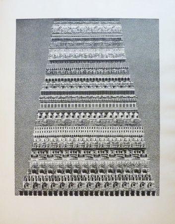 Aguafuerte Y Aguatinta Opalka -  Babel