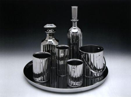 Litografía Koons - Baccarat Crystal Set