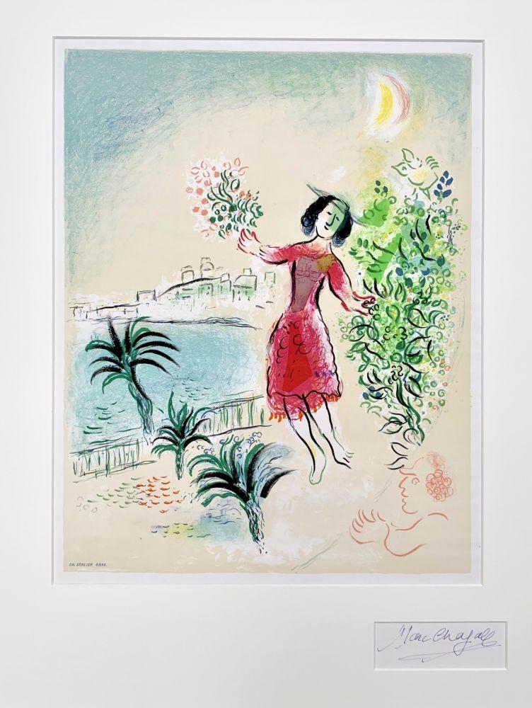 Litografía Chagall - Baie des Anges