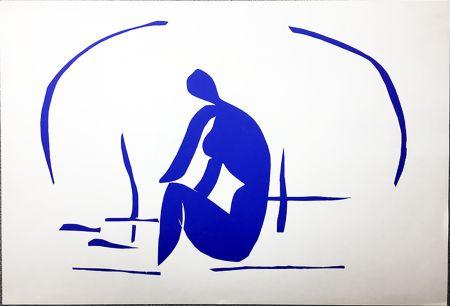 Litografía Matisse - Baigneuse Dans Les Roseaux. Lithographie pour VERVE. 1958