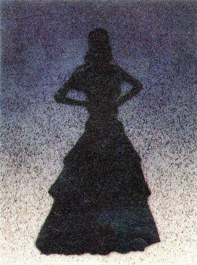Litografía Ruscha - Bailarina