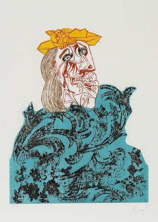 Aguafuerte Y Aguatinta Baj - Baj Chez Picasso 1