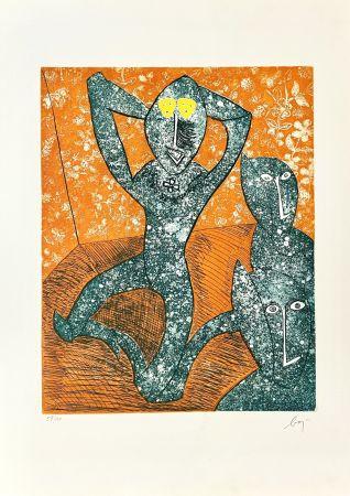 Grabado Baj - Baj chez Picasso 11,