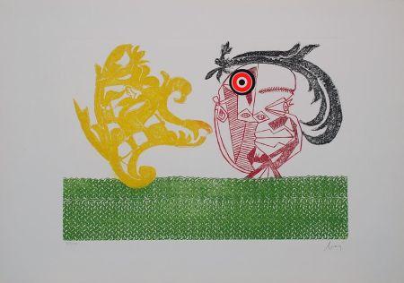 Grabado Baj - Baj chez Picasso 2
