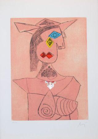 Grabado Baj - Baj chez Picasso 8