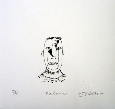 Serigrafía Gronk - Balance