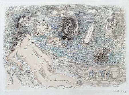Múltiple Dufy - Balcon Sur La Mer (Baigneuse aux Papillons)