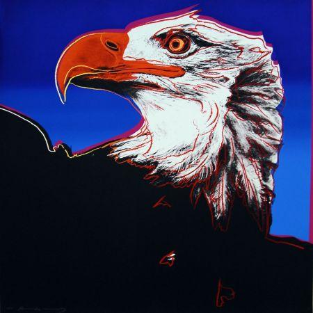 Serigrafía Warhol - Bald Eagle (FS II.296)
