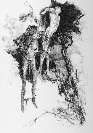 Aguafuerte Vespignani - Ballata degli impiccati