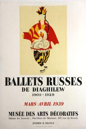 Litografía Picasso - Ballets Russes de Diaghilew  Musee des Arts Decoratifs