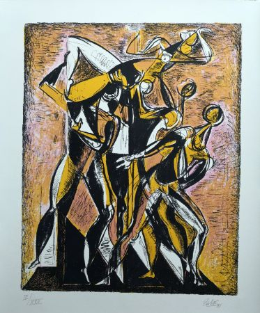 Litografía Carletti - Balletti 1