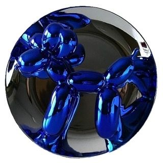 Cerámica Koons - Balloon Dog (Blue)