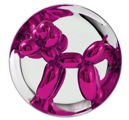 Sin Técnico Koons - Balloon Dog magenta