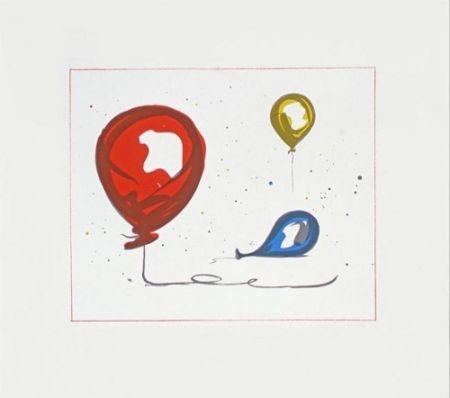 Litografía Oldenburg - Balloons