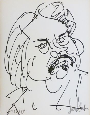 Litografía Paul  - Balzac