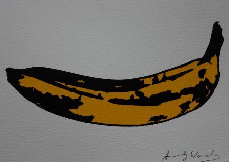 Serigrafía Warhol (After) - Banana