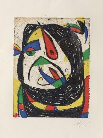 Grabado Miró - Barb IV (D. 1224)