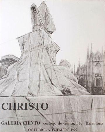 Cartel Christo - '' Barcelona ''