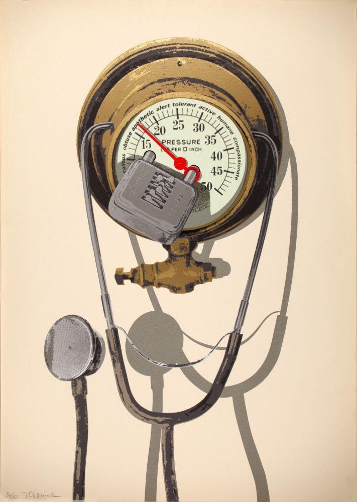 Serigrafía Burwitz - Barometer of Average Sensibilities (Combination Lost)