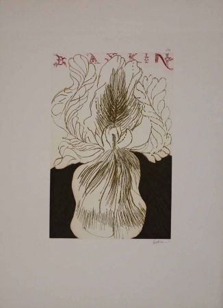 Aguafuerte Y Aguatinta Baskin - Baskin's Iris