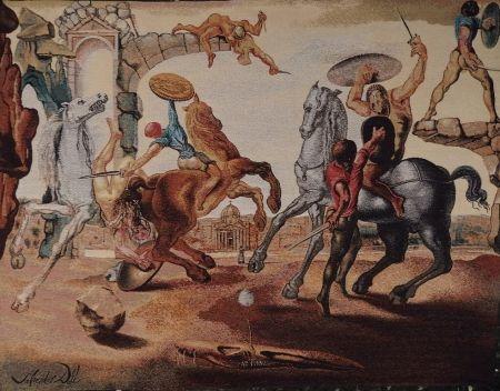 Múltiple Dali - Bataille autour d'un pissenlit (art rug)