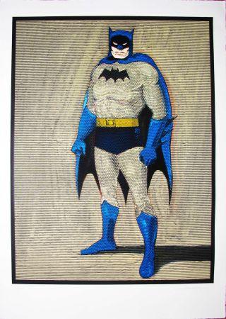 Grabado En Madera Ramos - Batman