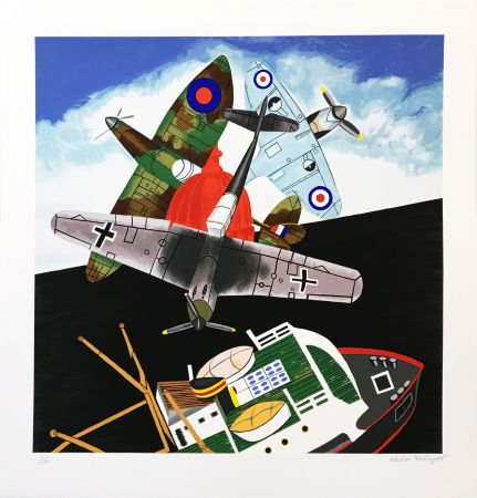 Serigrafía Morley - BATTLE OF BRITAIN