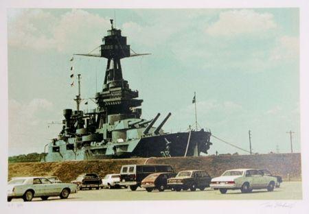 Serigrafía Blackwell - Battleship Texas