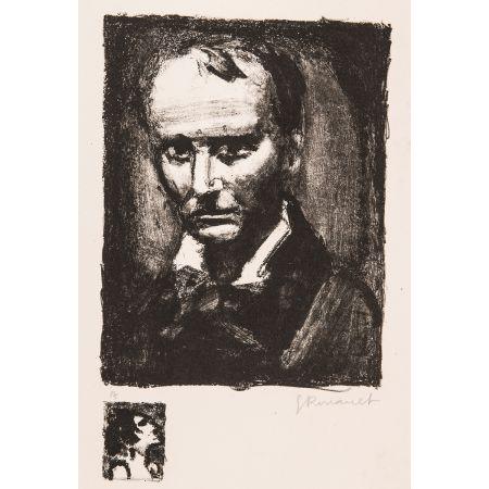 Litografía Rouault - Baudelaire