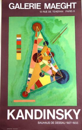 Litografía Kandinsky - Bauhaus De Dessau  Galerie Maeght