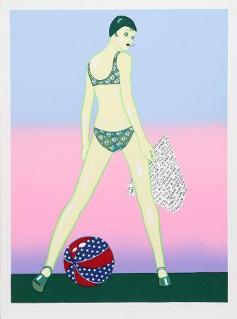 Serigrafía Kogelnik - Beach Ball